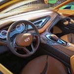 Cadillac unveiled its Elmiraj full-size concept car at Carmel, Calif., on Aug. 15 last year and has displayed it at auto shows since, telegraphing the styling of a big sedan coming later next year.
