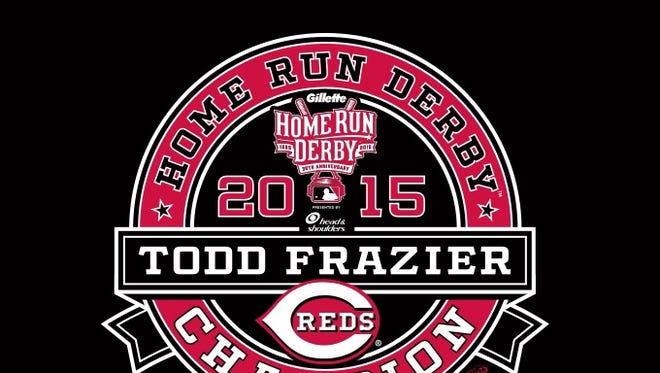 This Todd Frazier shirt will be available at Great American Ball Park on Tuesday.