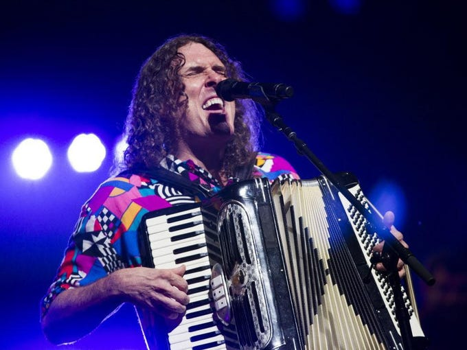 """Weird Al"" Yankovic will perform with a full symphony at the Miller High Life Theatre July 27. Tickets are $33 to $78."