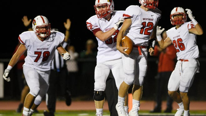 Westwood quarterback Sean Hopkins ranks third in North Jersey in passing yards after eight weeks.