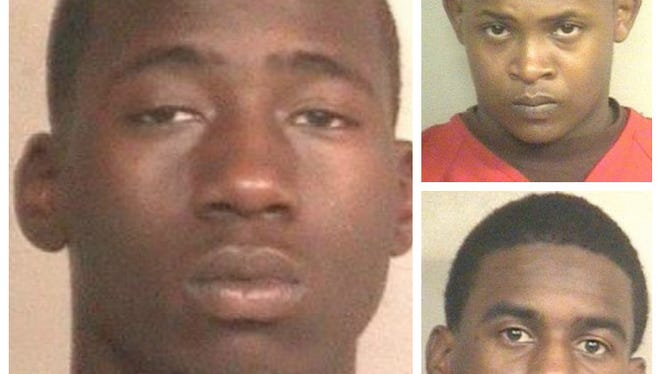 J'Quantis Brown is still wanted by JPD. Devonta Hawkins and Montra Wallace are in custody.