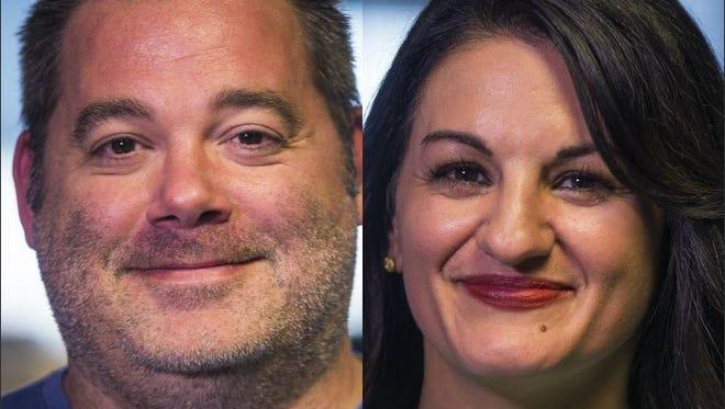 Rob O'Dell and Yvonne Wingett Sanchez