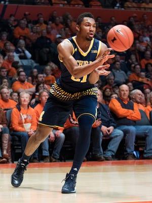 Zak Irvin's game has evolved in his 2-plus seasons in Ann Arbor.