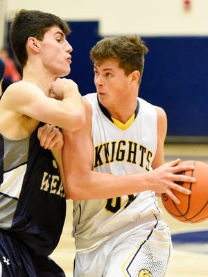With the loss of Jared Achterberg (right) to a season-ending knee injury, Eastern York has struggled and fallen back into a three-team race with Dover and Kennard-Dale for the Division II crown. Dawn J. Sagert photo