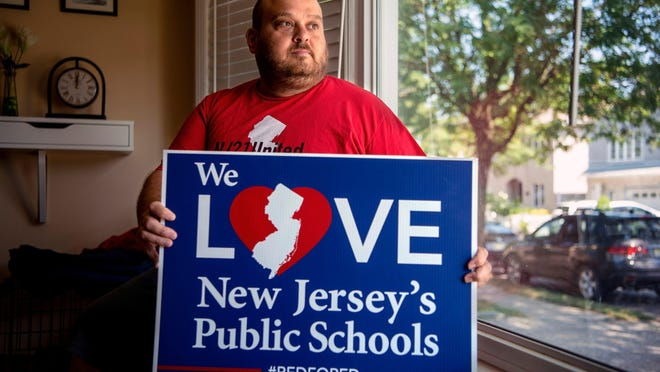 Chris Cannella, a teacher in Cedar Grove for twenty years, is urging the Essex County Superintendent of Schools to implement a phased reopening plan for teachers and students this fall due to concerns with Covid-19. Cannella is president of the Cedar Grove Education Association.