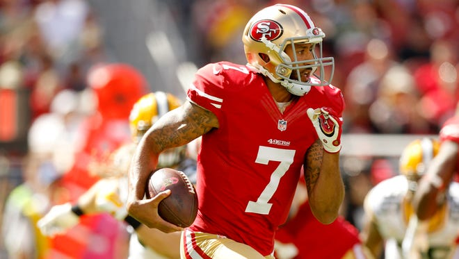 QB Colin Kaepernick has taken the 49ers to two NFC Championship games and a Super Bowl.