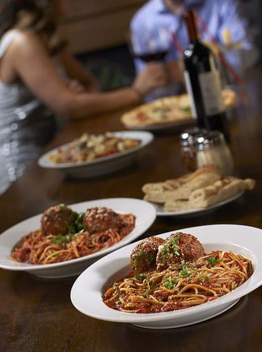 Babbo Italian Eatery offers spaghetti and meatballs