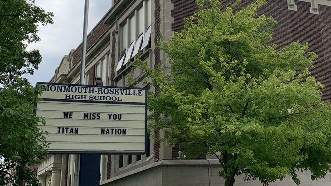 Monmouth-Roseville High School.