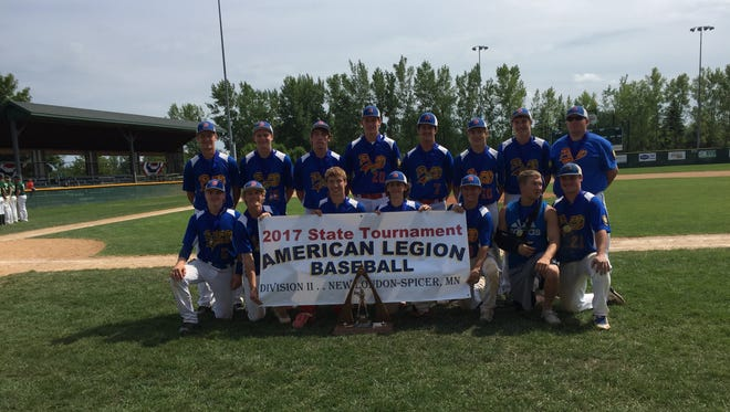 Pierz Post 341 won the state Division II American Legion baseball title Sunday by beating Proctor, 5-1 at Spicer.