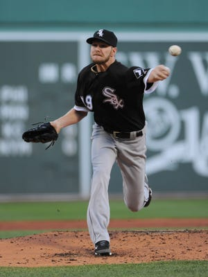 Chris Sale will wear a different uniform this season when he pitches in Fenway Park.