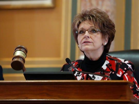 Rep. Linda Upmeyer, speaker of the house of representatives,