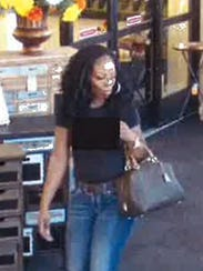Prattville police are looking for this woman in a forged