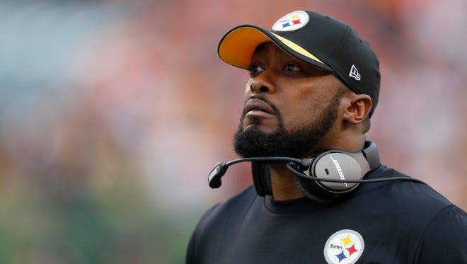 Pittsburgh Steelers head coach Mike Tomlin is hoping his team can get some help from the Buffalo Bills this Sunday.