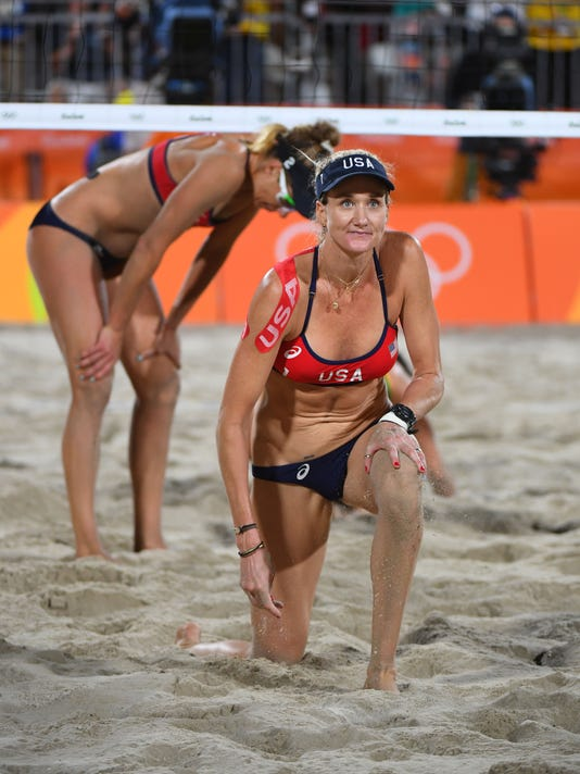 Olympics: Beach Volleyball