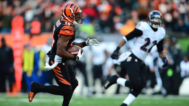 Wide receiver Andrew Hawkins recently signed a four-year deal with the Cleveland Browns.