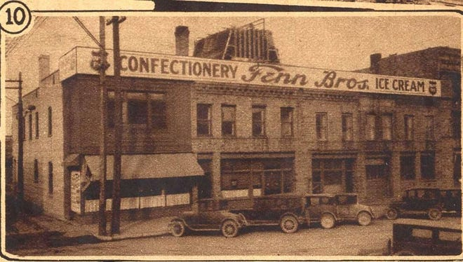 A postcard showing the Fenn Bros. business in its early years.