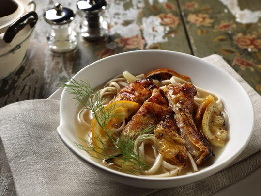 Chicken-fennel soup doubles down on flavor and on fighting sniffles