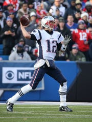 Patriots quarterback Tom Brady was 21-31 for 258 yards to lead New England to a 23-3 win over the Bills.