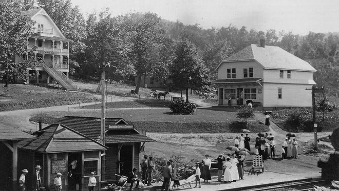 The railroad up from Old Fort opened Ridgecrest to tourists, trade and lots of Baptists.