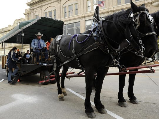 Horse-drawn carriage rides will be one of many activities