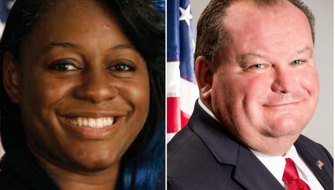 Rumella Cameron, D, and William Murphy, R, candidates for Greece town board, Ward 2.