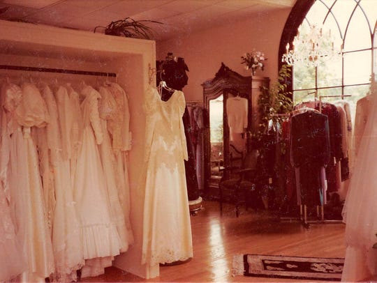 The Floersheimer collection of 1980s wedding gowns
