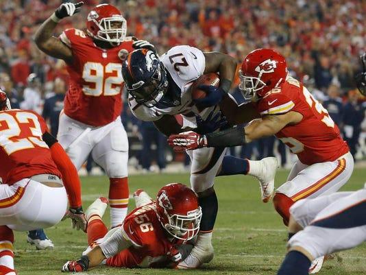 Broncos Chiefs Football