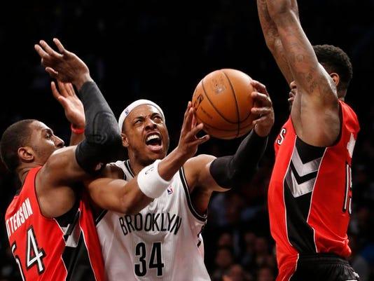 APTOPIX Raptors Nets Basketball