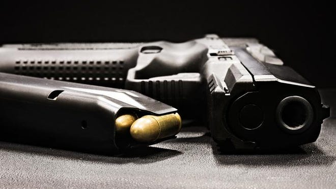 It is a federal and state violation with severe penalties for a convicted felon to possess a firearm.