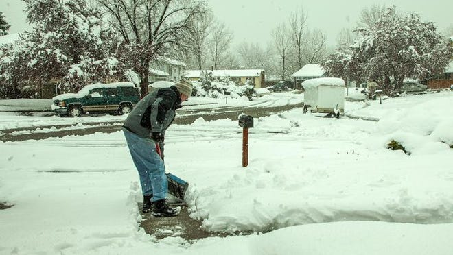 Keep walks and driveways shoveled if showing a home in the winter.