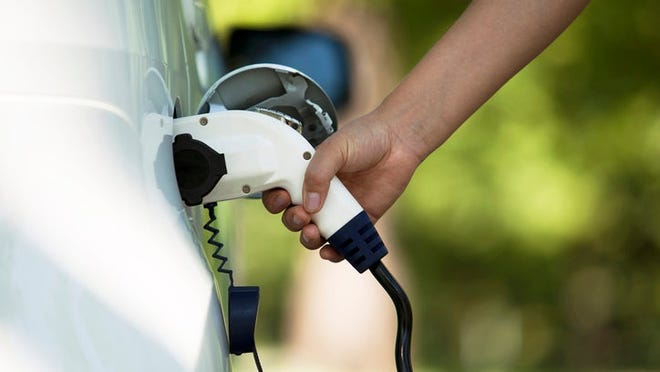 Fairfield is applying for a grant to install an electric charging station for electric cars in the city.