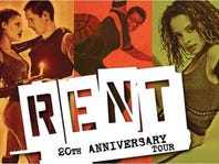 Tickets to see 'Rent' at The Playhouse