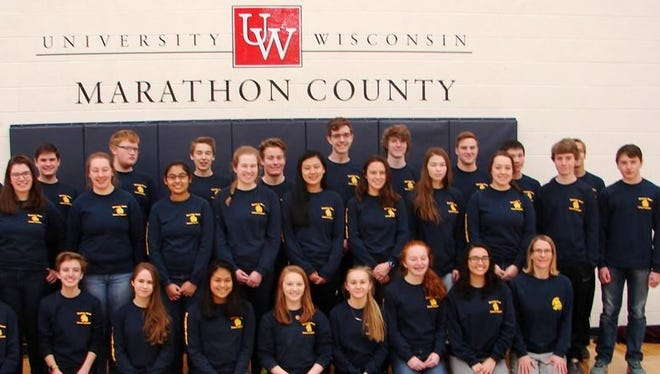Wausau West High School's Science Olympiad teams earned medals in a regional competition in February at the University of Wisconsin Marathon County.