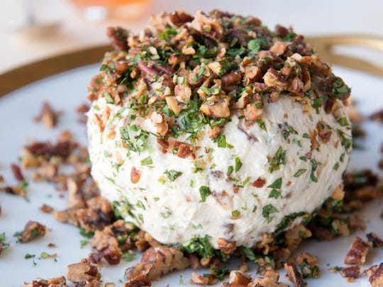 This cheese ball is aptly named Party Magnet.