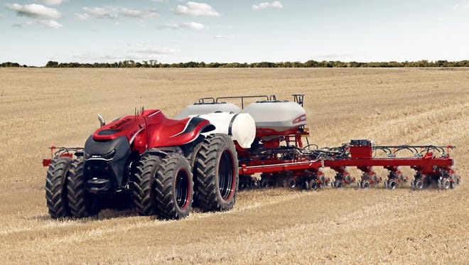 Case IH, which has been making farm equipment in Racine for a century, has developed an autonomous tractor that looks more like a Mars rover than farm machinery.