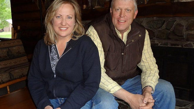 Kim and Ernie Barker work year round as the second-generation owners of JJJ Wilderness Ranch west of Augusta.