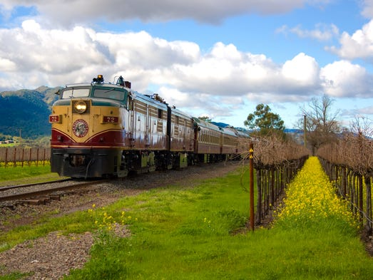 The Napa Valley Wine Train completed a program for