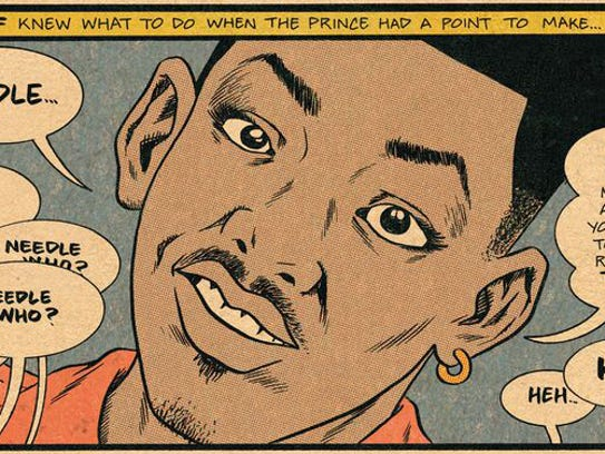 The Fresh Prince (now better known as Will Smith) makes