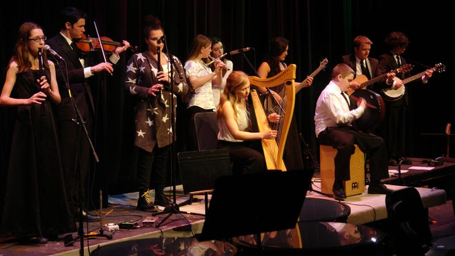 Róisín Dubh performs at the East Rochester Junior/Senior High School's Kaleidoscope Concert last month.