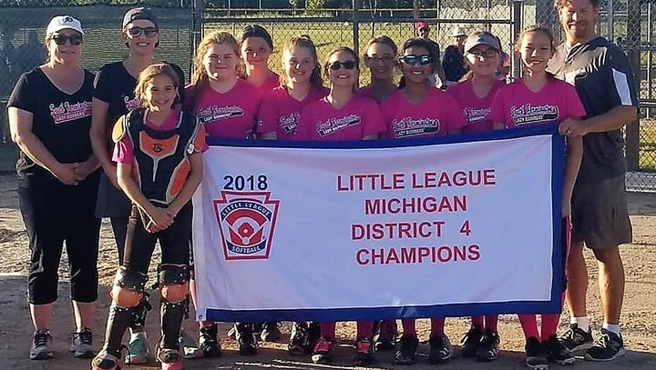 Little League teams share their diamond success
