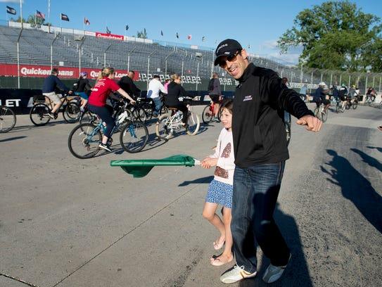 Team Penske Verizon IndyCar Series driver Helio Castroneves