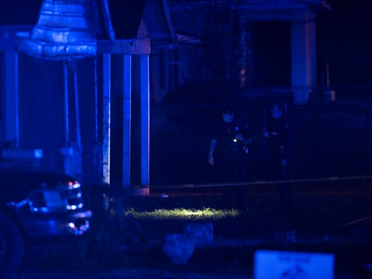 Montgomery Police investigate a shooting on Early Street