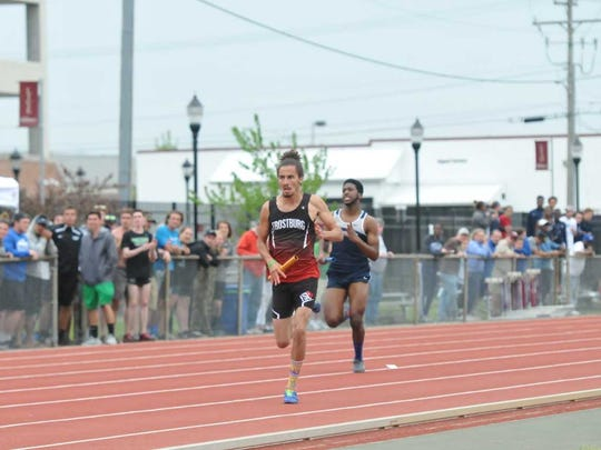 Matthew Robinson finished in the top 10 of the Capital Athletic Conference Championship at Salisbury University in May.