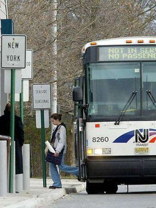 New nj transit bus routes to add brookdale access - Port authority bus schedule ...