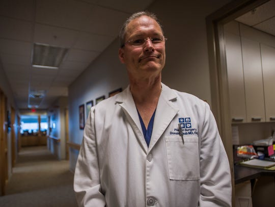 Dr. Don Laub is now works at Four Seasons Dermatology in Colchester after the University of Vermont Medical Center declined to renew his contract following intensive negotiations regarding his charity work overseas.