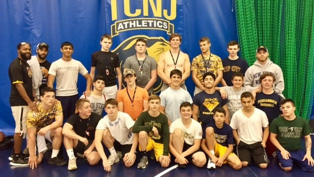 The Pequannock High School wrestling team had 20 wrestlers attend The College of New Jersey camp this past June. It was the largest turnout in school history.