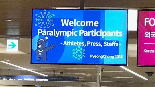 Dr. Stephanie Aldret of Lafayette was part of the medical team to help processTeam USA athletes upon arrival to South Korea for the Paralympic Games this month.
