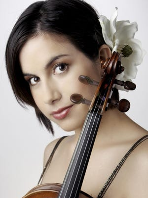 Violinist Danielle Belen will perform with the Tulare County Symphony.