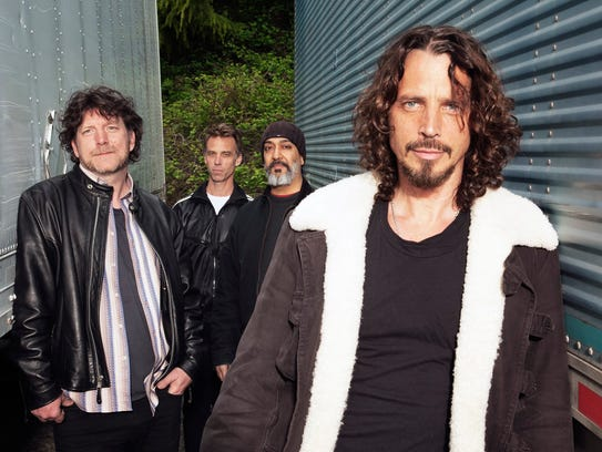 Soundgarden will perform May 10 at the Farm Bureau