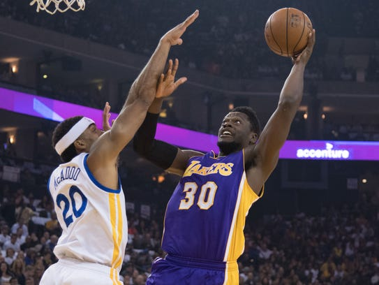 Lakers forward and former Kentucky star Julius Randle